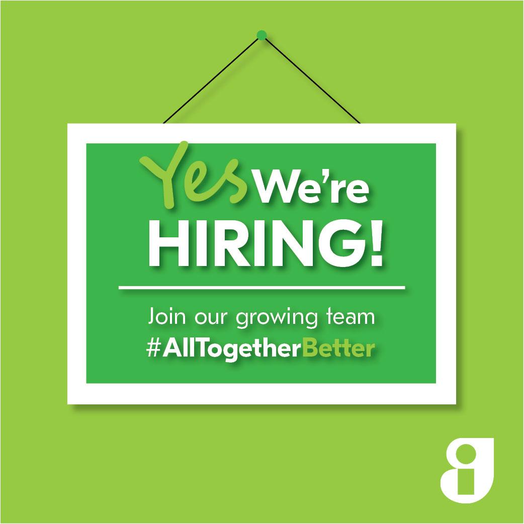 We are hiring GI