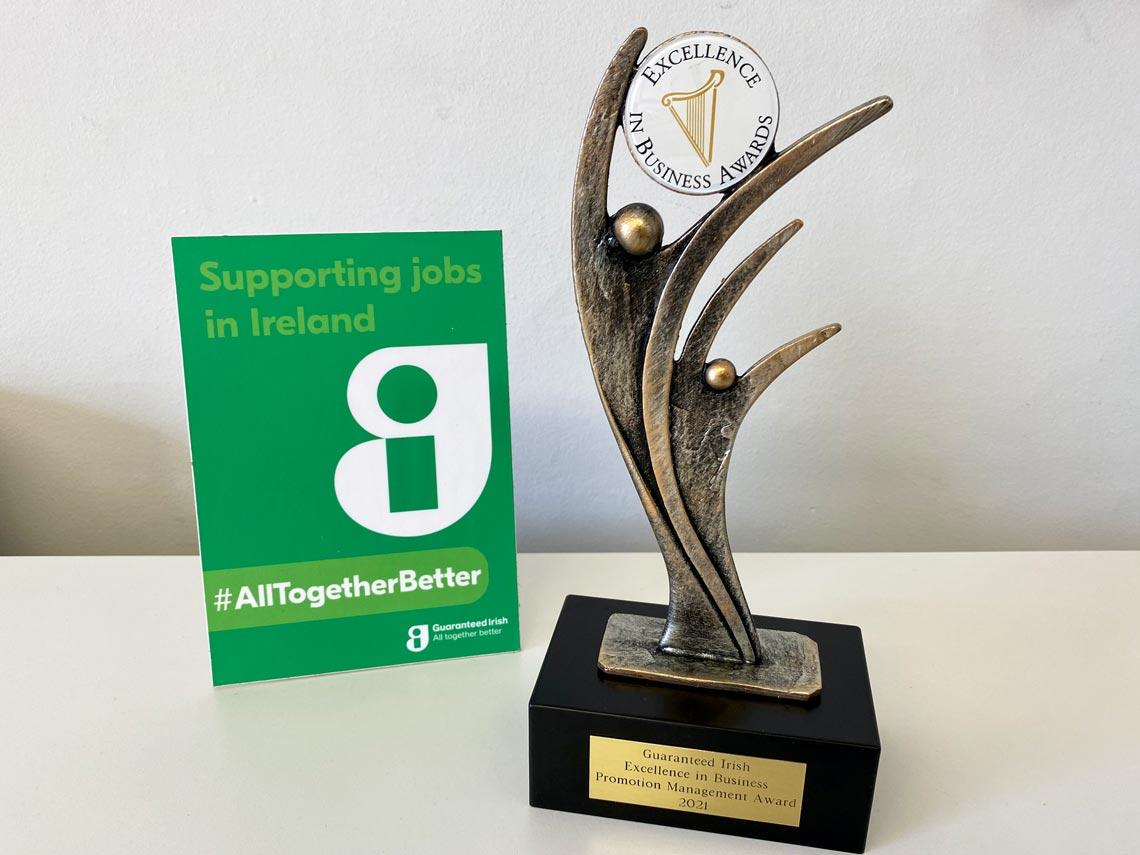 Public Sectro Awards 2021 - Guaranteed Irish