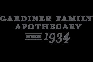 Gardiner Family Apothecary Logo