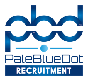 Pale Blue Dot Recruitment Logo
