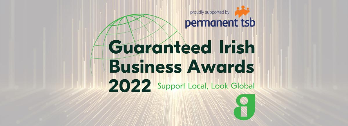 Guaranteed Irish Business Awards 2022 - become a sponsor